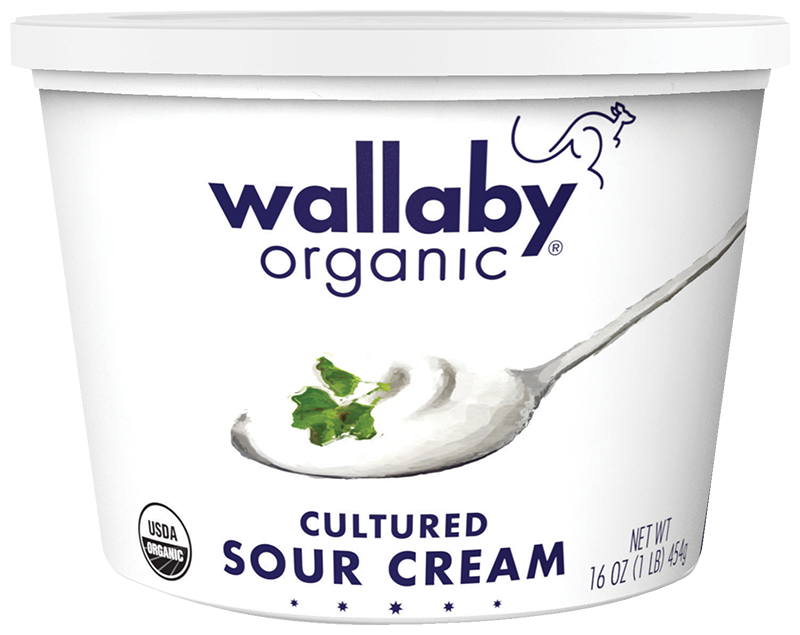 Wallaby Organic Cultured Sour Cream