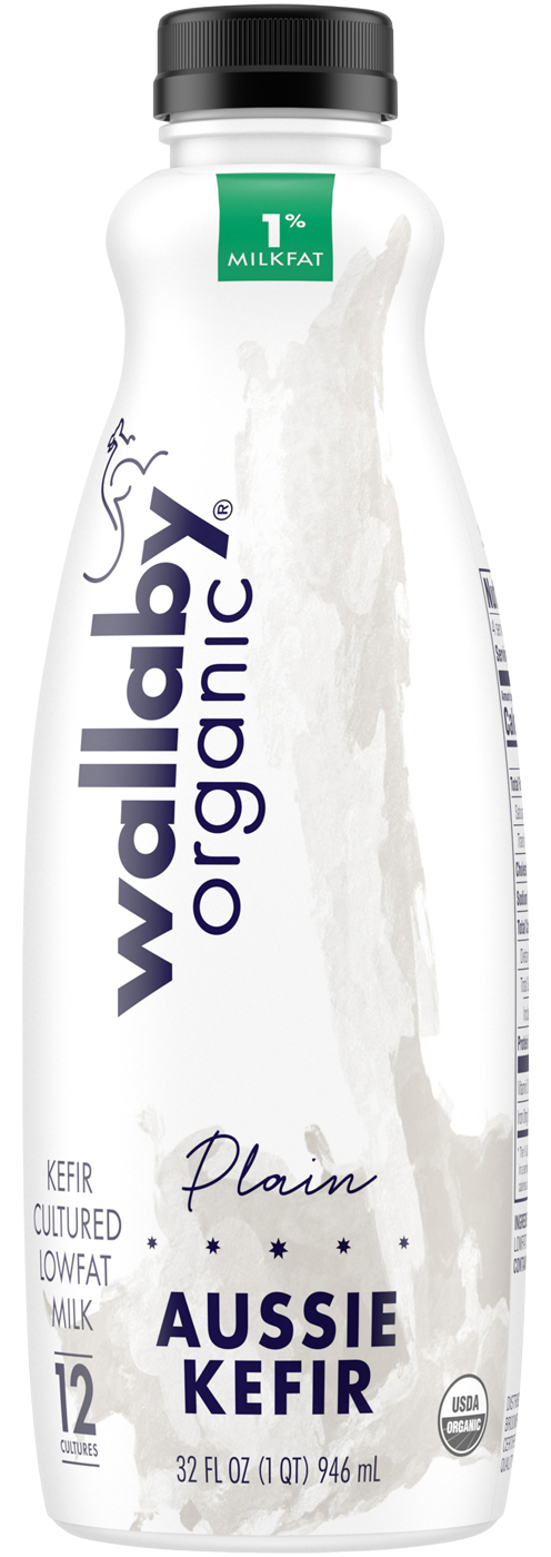 Wallaby Plain Organic Low Fat Kefir