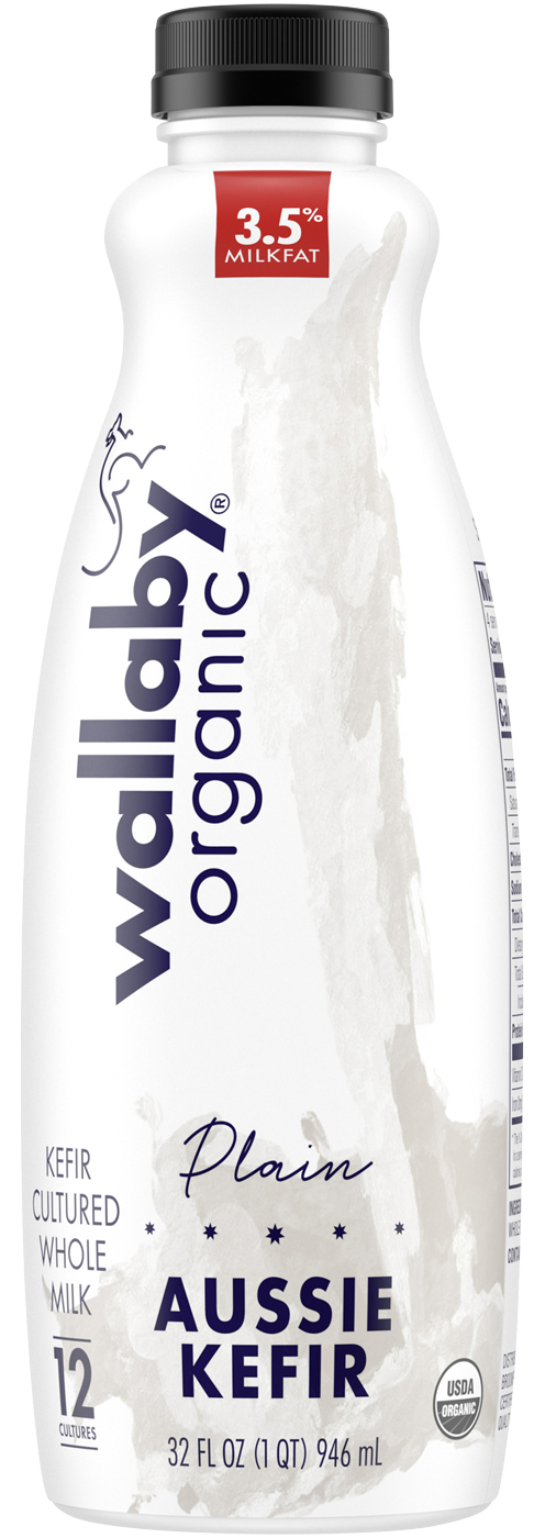 Wallaby Plain Organic Whole Milk Kefir