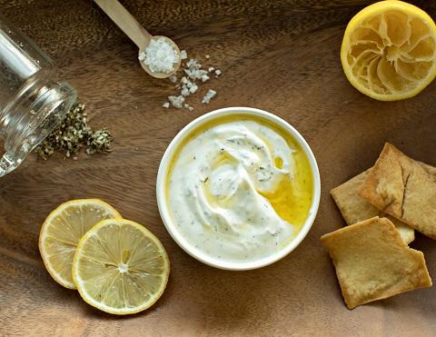 Lemon Za'atar Yogurt Dip Recipe