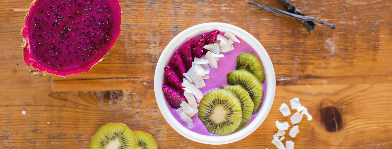 Dragon Fruit Smoothie Bowl Recipe