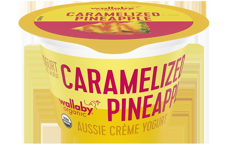 Aussie Crème Caramelized Pineapple