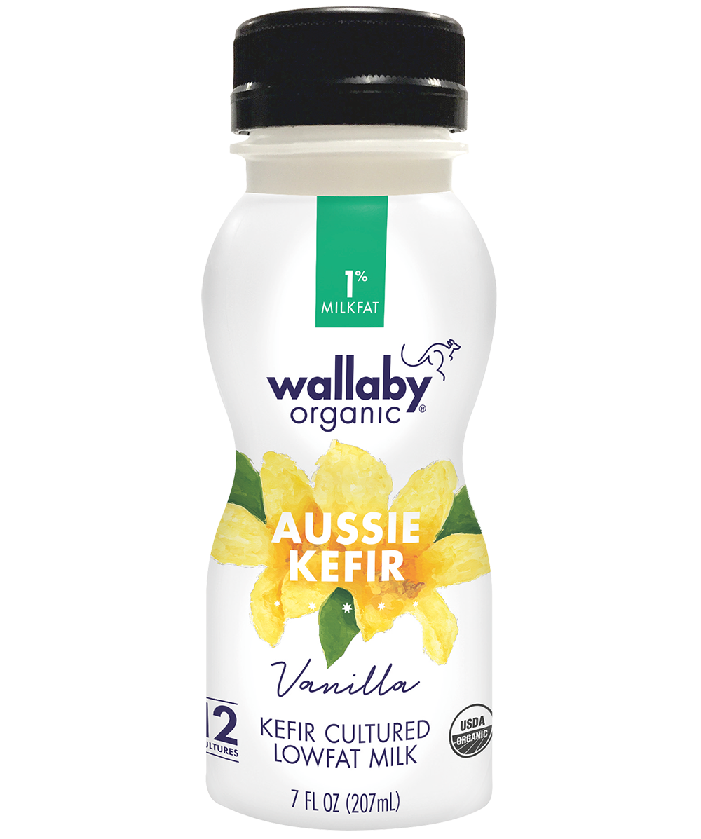 Wallaby Vanilla Organic Low Fat Kefir