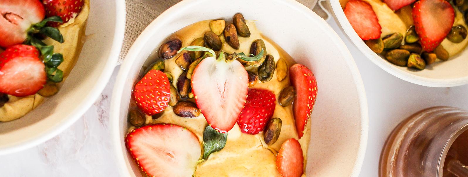 Honey Turmeric Yogurt Bowl